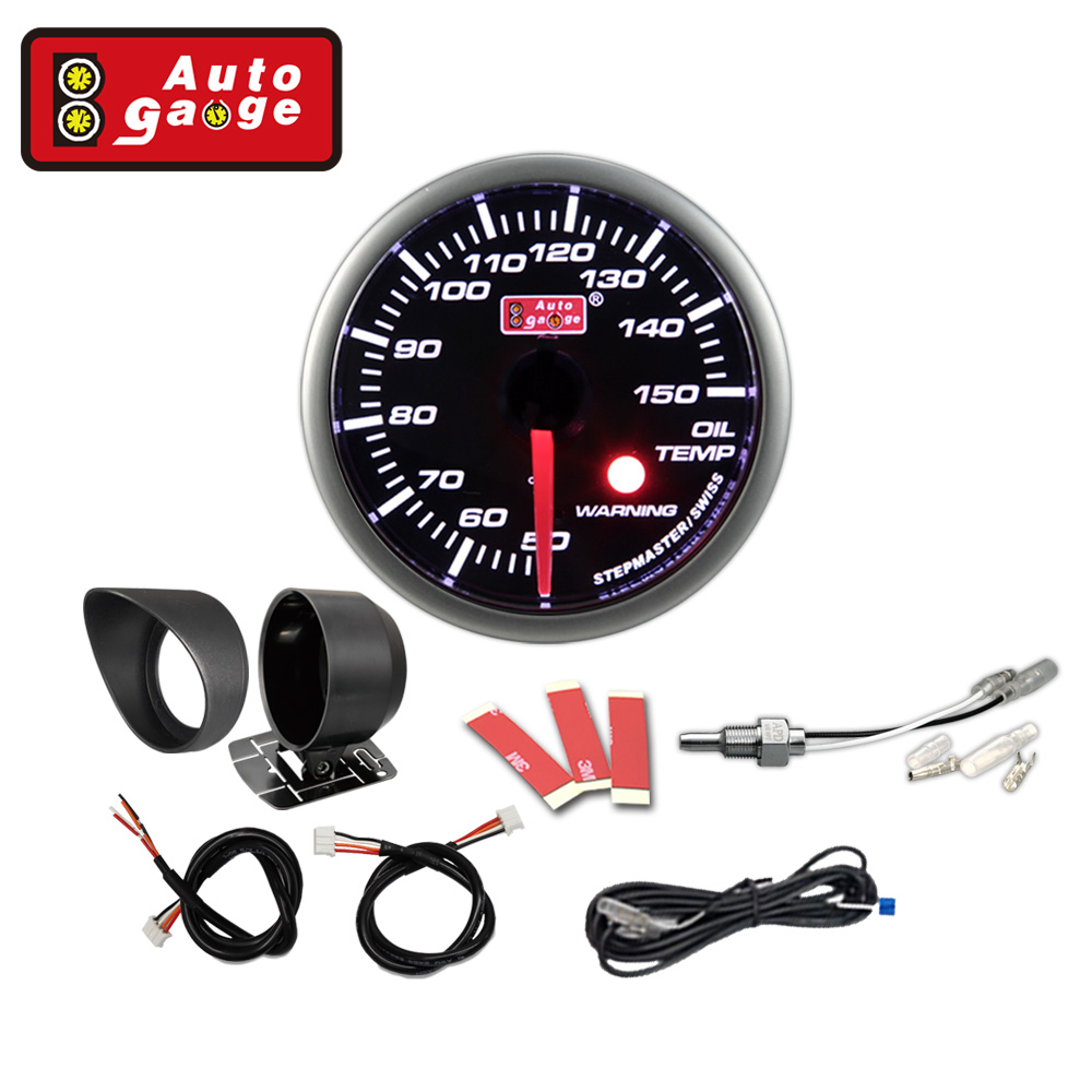 "2 3/8"" Oil temperature meter car temp metercar"