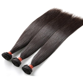 Unprocessed Virgin Indian hair Straight Hair 14 36 Human hair weave bundles Mix length Natural Color