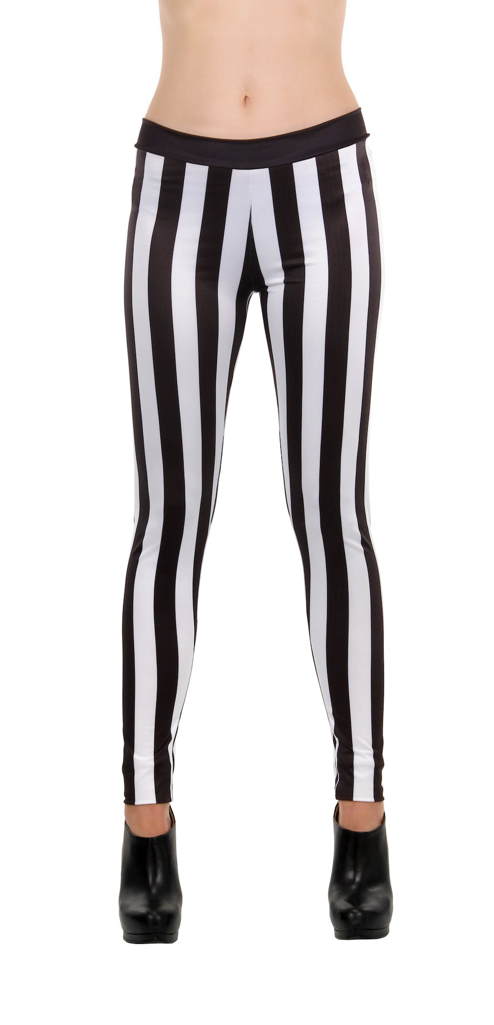 92b8e8f86916d Cheap Striped Black And White Leggings, find Striped Black And White ...