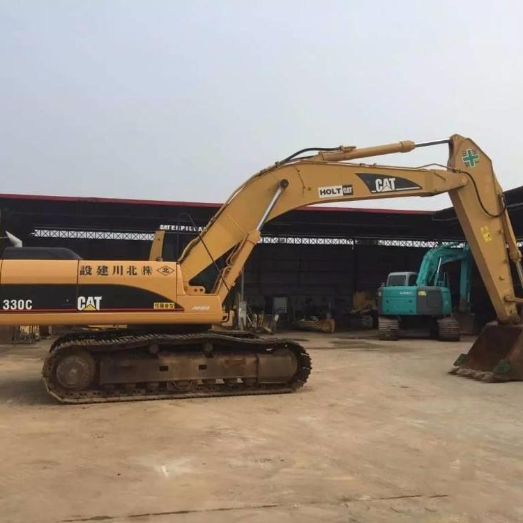 USED Construction Caterpillar 330C Crawler Excavator Machine CAT 320B 320C 330C excavator