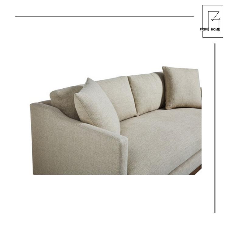 Custom  Antique Hampton Style Living Room Hampton Style Linen Sofa Furniture