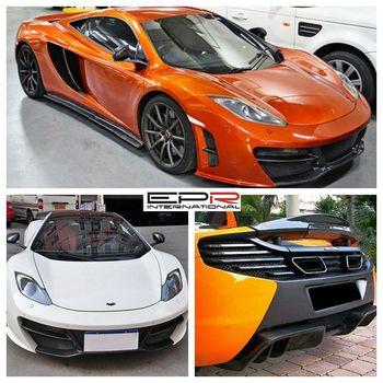 for mclaren mp4-12c revo style rear diffuser body kits - buy auto