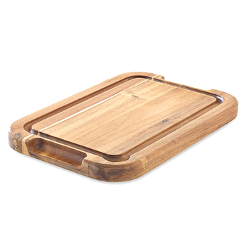 Designer Acacia Wood Rectangular Cuttingchopping Board With Juice Grooves And Carved Handle Buy Acacia Wood Chopping Boardswooden Serving