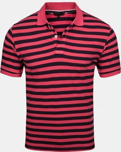 Hot selling Latest Design Striped Short Sleeve 100% cotton Mens Polo Shirt