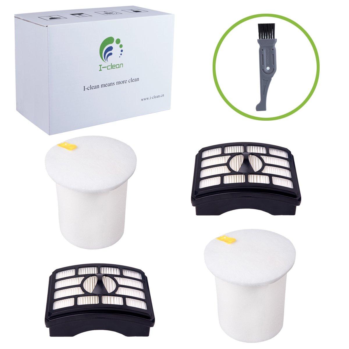 1HEPA filter 2Foam Felt Filter kit for NV500 Shark Rotator Pro Lift-Away XFF500