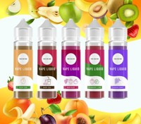 E-Cig Flavours 50 x 30ml Wild Strawberry eliquid eflavor electronic vape liquid- OEM - UK Made - 24 Hour delivery