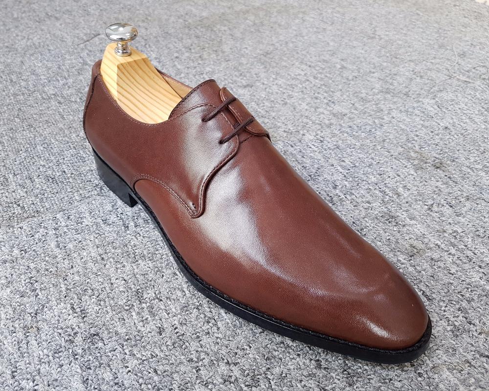 Men's derby LEATHER 79290 shoes handmade Vietnam qdKFwCgq