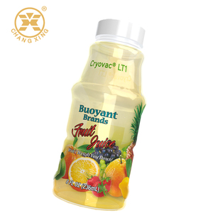 Thermal PVC shrink sleeve label for juice bottle cover