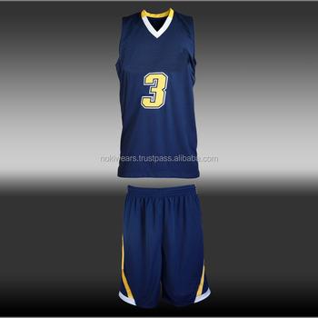 7bda4850de2 Blue Design custom basketball uniforms   sublimation basketball jersey   At  noki