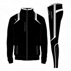 Men's Polyester Jacket - Joggers Pant - Sweat Track Suit - Plain Sweat Suits - Jogger Sweatpants - Cheap Men Sports Suit - Hoody