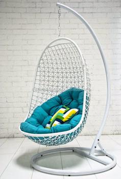 Egg Chair Rotan.Synthetic Rattan Garden Egg Swing Hanging Chair Garden Outdoor