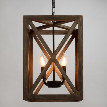 Industrial Wood Frame Drop Down Ceiling Lights Vintage Mango Wood Ceiling Lamp Buy Long Drop Ceiling Lights Lamp Shades Metal Frame Led Side Light