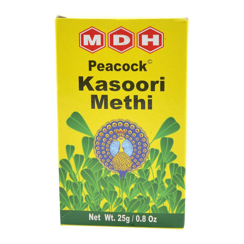 Peakasoori Methi Dried Fenugreek Leaves 3  Grams By Mdh