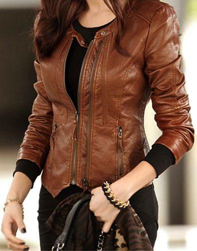 Fashion Jacket For Women New Style /women Fashion Leather Jacket ...