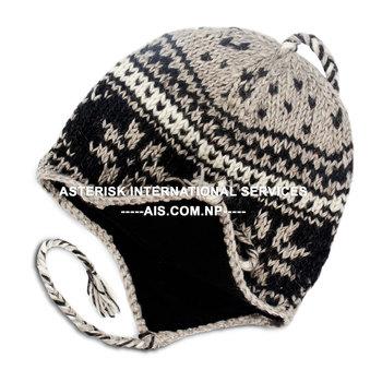 686688705 Cold Weather Earflap Woollen Hat,Sherpa Beanie Style With Long Ear  Flaps,Soft Fleece Lining - Buy Earflap Woolen Hat,Sherpa Beanie Style With  Long Ear ...