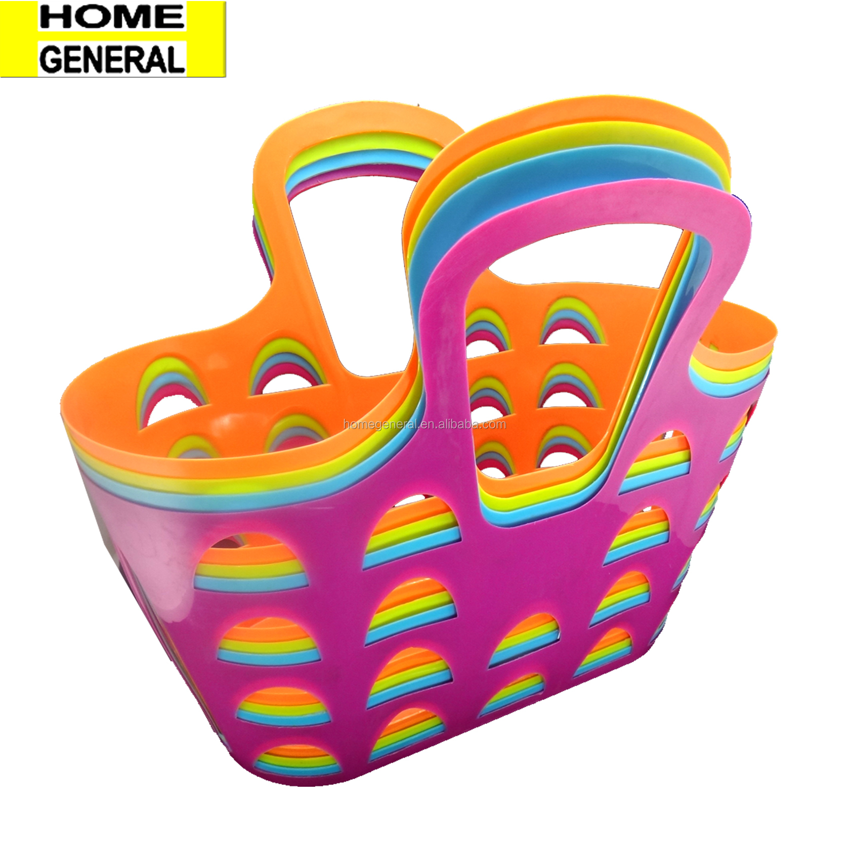 PLASTIC SHOPPING GROCERY BASKET