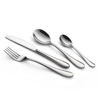 Stock hot selling 2018 18/10 hotel flatware, 304 stainless restaurant cutlery