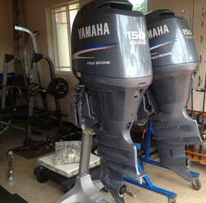 Used Honda and Yamaha 250/350/ Outboards Motors