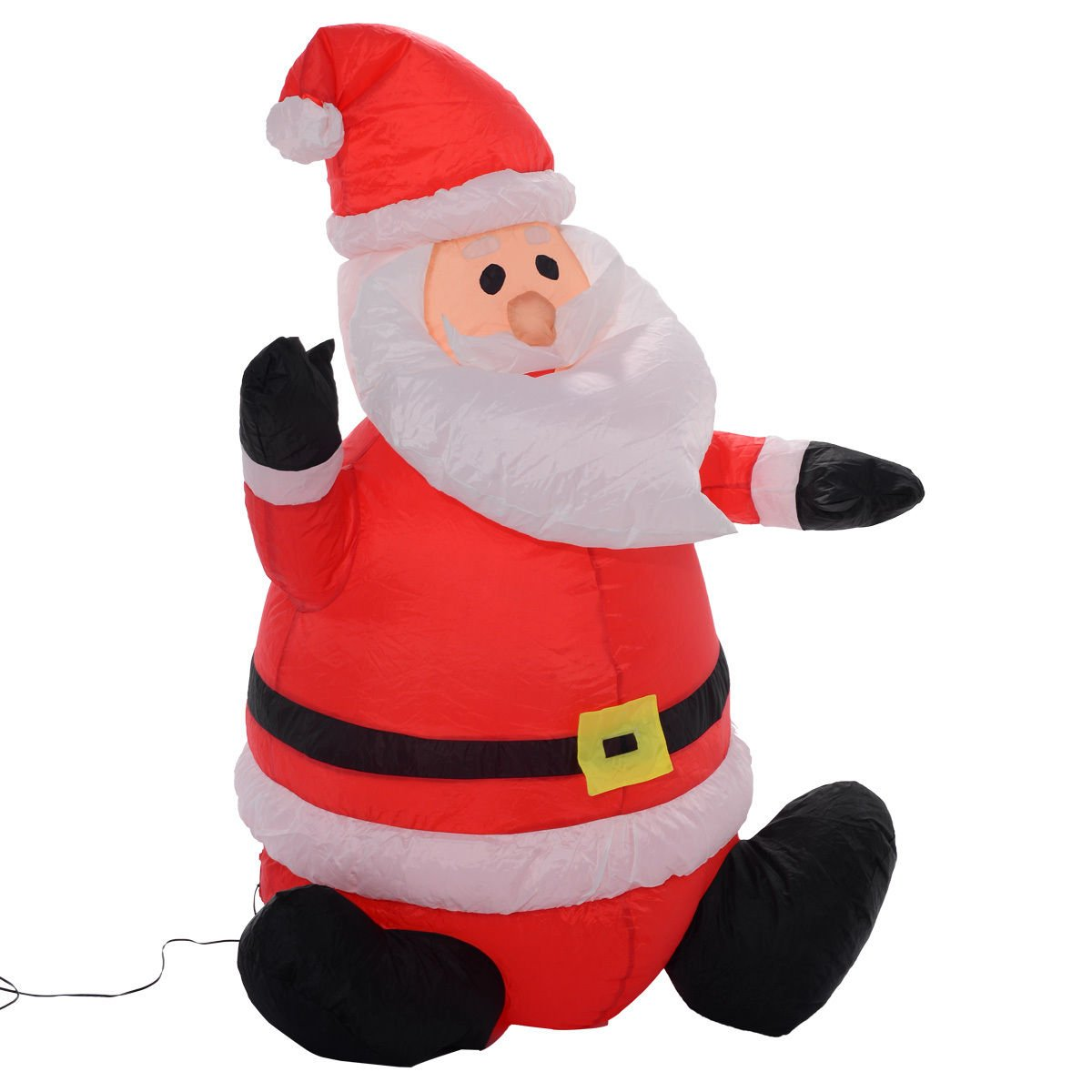 get quotations tangkula 4ft airblown inflatable christmas xmas santa claus decoration lawn yard outdoor - Cheap Inflatable Christmas Decorations