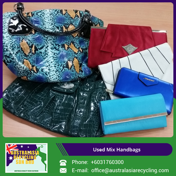 Mixed Used Handbags Wholesale in Bales