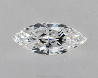 0.59 Ct. Marquise Shape Loose Natural Diamond D VVS1 GIA