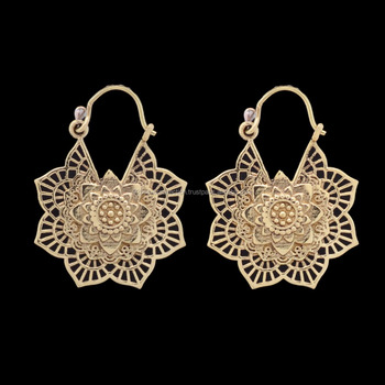 Brass Wholesale Fashion Ethnic Jewelry For Girl S Brass Earring