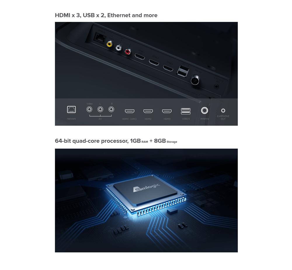 Xiaomi TV 4A 32 inch Mi LED Smart TV 8