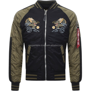 b89246fe0 Custom Made Bomber Jackets With Embroidered Logo,High Quality Bomber  Jacket,Winter Jackets For Men - Buy Custom Made Bomber Jackets With  Embroidered ...