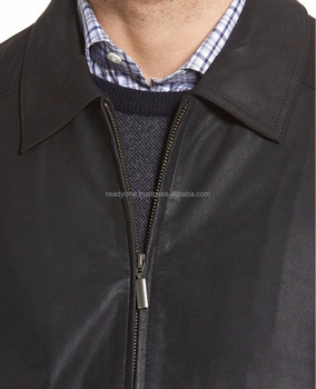 cb7c1247d90 De piel de vaca de cuero genuino moto chaquetas de cuero Hombre clásico