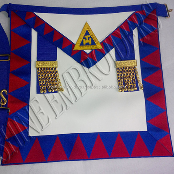 Masonic Regalia Royal Arch Provincial Apron - Buy Royal Arch Apron And  Sash,Royal Arch Apron And Sash,Masonic Regalia Apron Product on Alibaba com