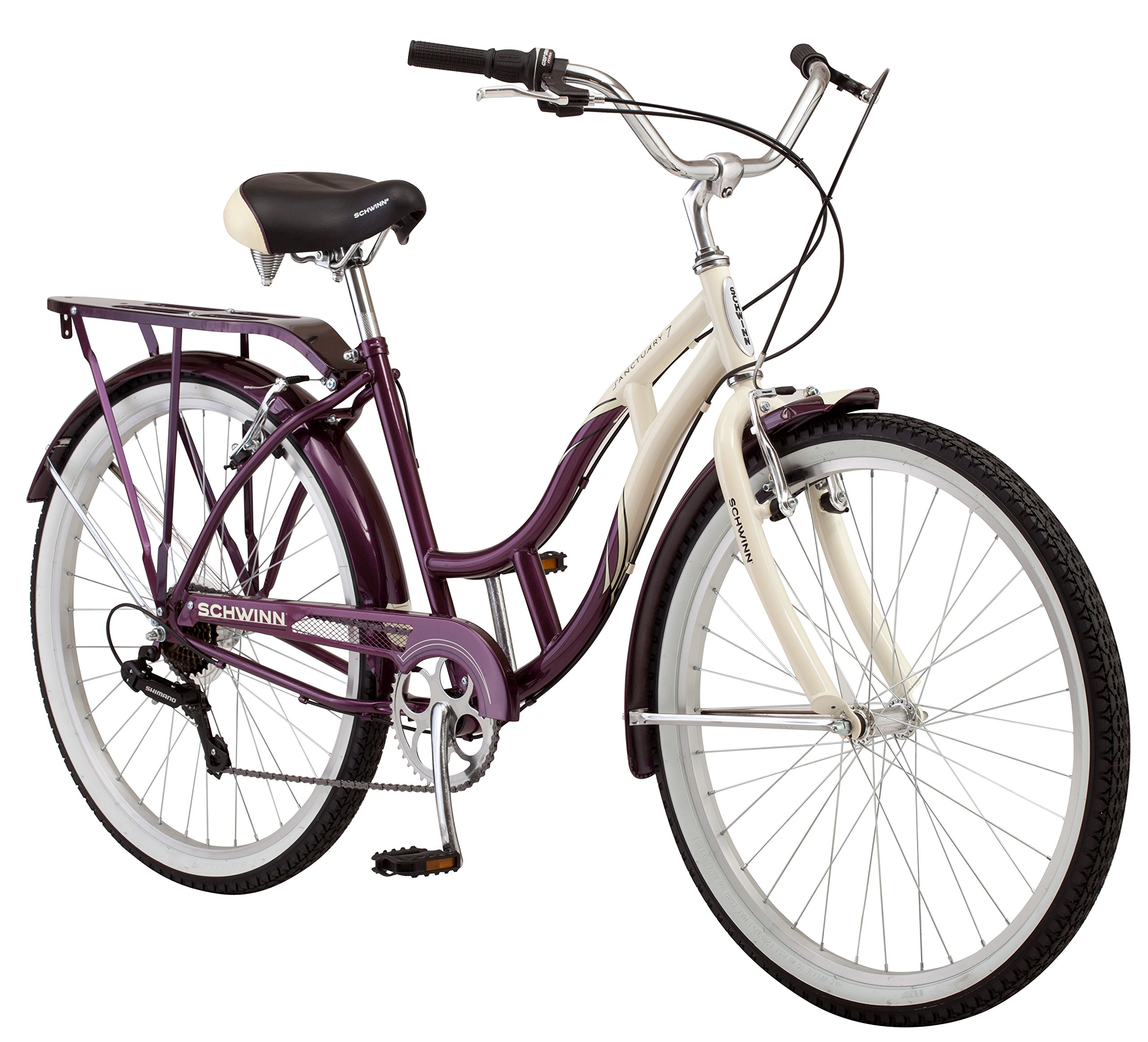 Get Quotations · Schwinn Women s Sanctuary 7-Speed Cruiser Bicycle (26-Inch  Wheels) 1103f22d2b