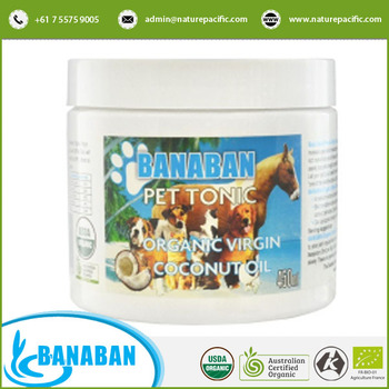 Coconut Oil Organic Supplement for Pets and Dogs at Bulk Price
