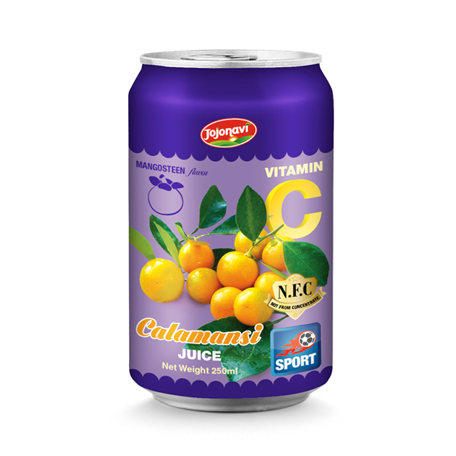HACCP, FDA, HALAL, ISO 2000 Certification Calamansi juice with mangosteen flavor manufacturers