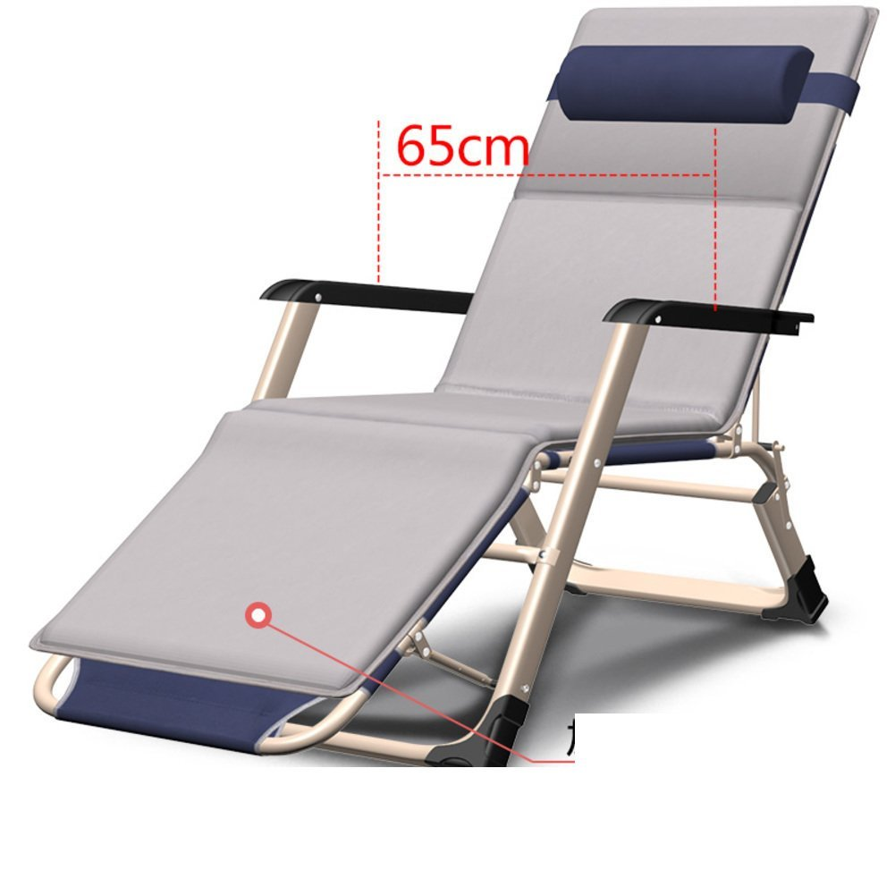 Folding Bed/Single Bed/Couch/Folding Chair/Bed Rest/Office Simple Bed/Camp Bed/Nap Bed/Portable Bed-G