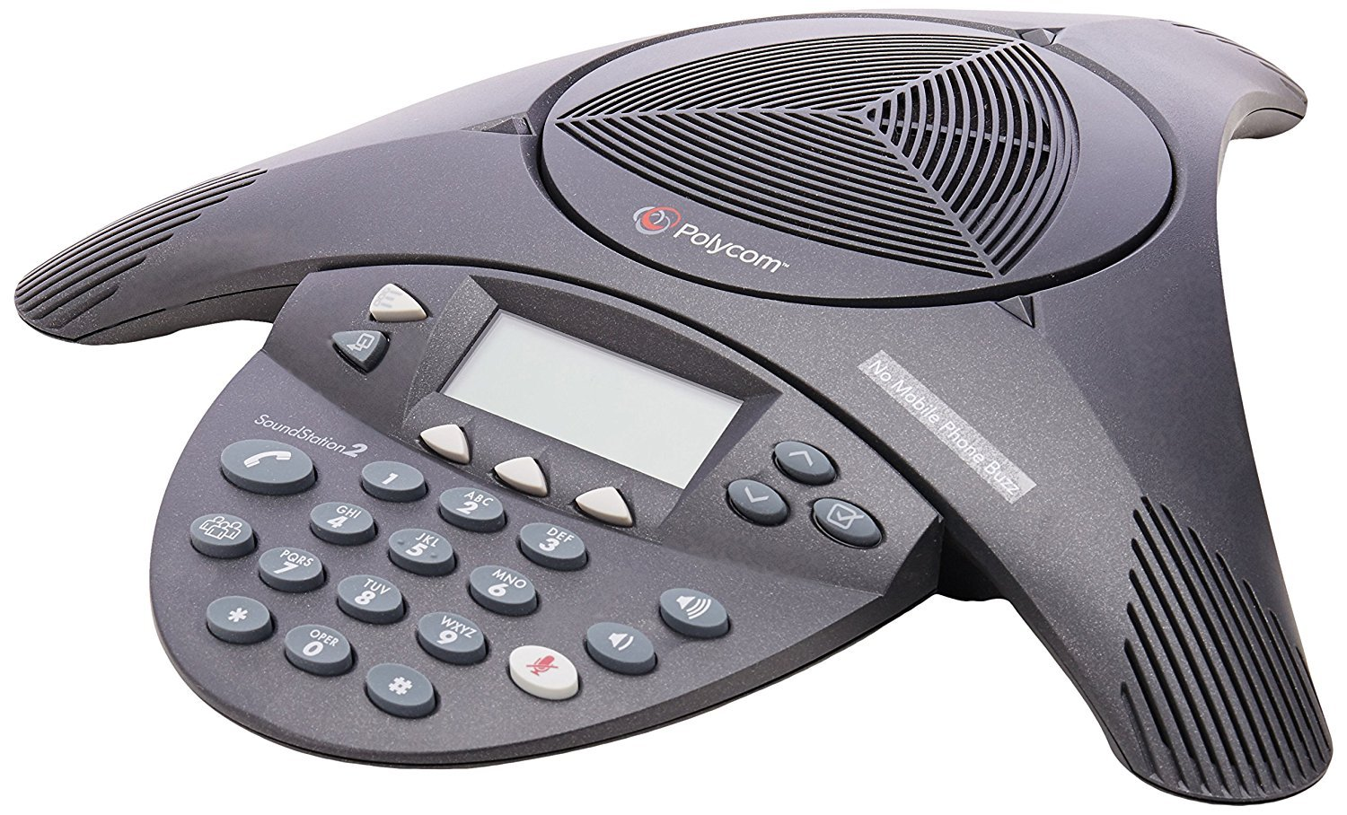 get quotations � polycom soundstation 2 non expandable analog conference  phone (certified refurbished)