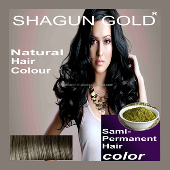 Made In India Natural Black Henna Hair Color For Quick Repair Of