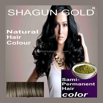 Dibuat Di India Alami Hitam Henna Warna Rambut Untuk Perbaikan Cepat