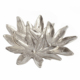 Aluminum lily Flower Shape Platters Decorative Leaf Serving Platter and Bowl for Home Decor or Metal Tableware Dining Items
