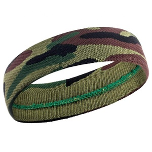 Custom Multifunctional Sports Elastic Camo Headband Camouflage Headband