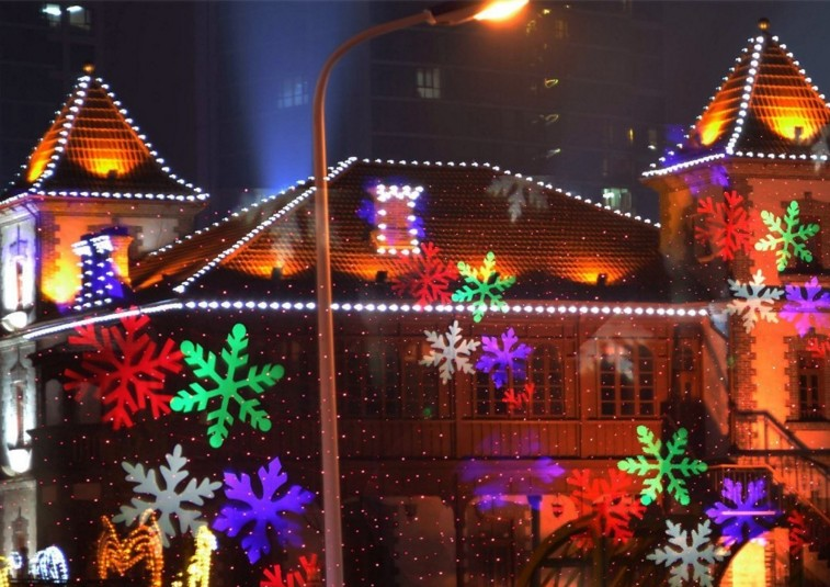 Top quality christmas garden led decoration light christmas in china with 12 slides