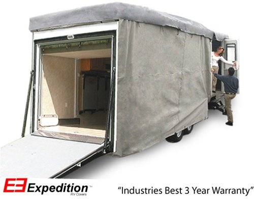 Expedition RV Trailer Cover Fits Toy Hauler size 24ft - 28ft RVs
