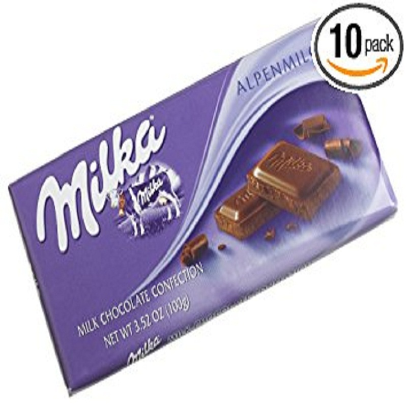 Milka Chocolate: blanco 95g-Milka chocolate bar (87g 95g 100g)