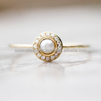 Pearl Wedding Rings.White Pearl Wedding Ring With Diamonds In 14k Gold Pearl Engagement Ring Fine Jewelry Buy Wedding Rings Pave Ring Pearl Ring Product On Alibaba Com