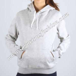 100% Cotton 260 GSM Hoodie jacket for women