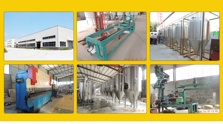 beer brewing equipment for micro brewery with CE and ISO