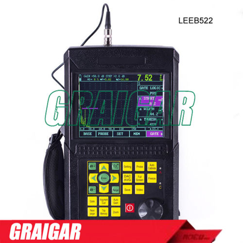 Leeb522 Digital Ultrasonic Flaw Detector Scanning Range 2.5-10000mm