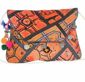 92170fc2b84 Handmade embroidery design purse sling hand bag women handbags evening clutch  bags