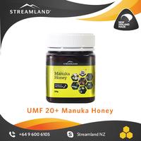 UMF certified Medical level Antibacterial Manuka UMF 20+ honey 250g