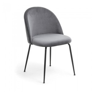 new style hotel dining chair with gold leg high quality grey green fabric living room beetle chair dining furniture LP-007