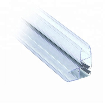 Glass Door Magnetic Seal Strip Bottom Seal Curved Shower Screen